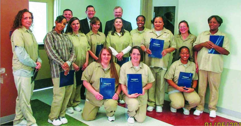 Inmates at the Nebraska Correctional Center for Women in York