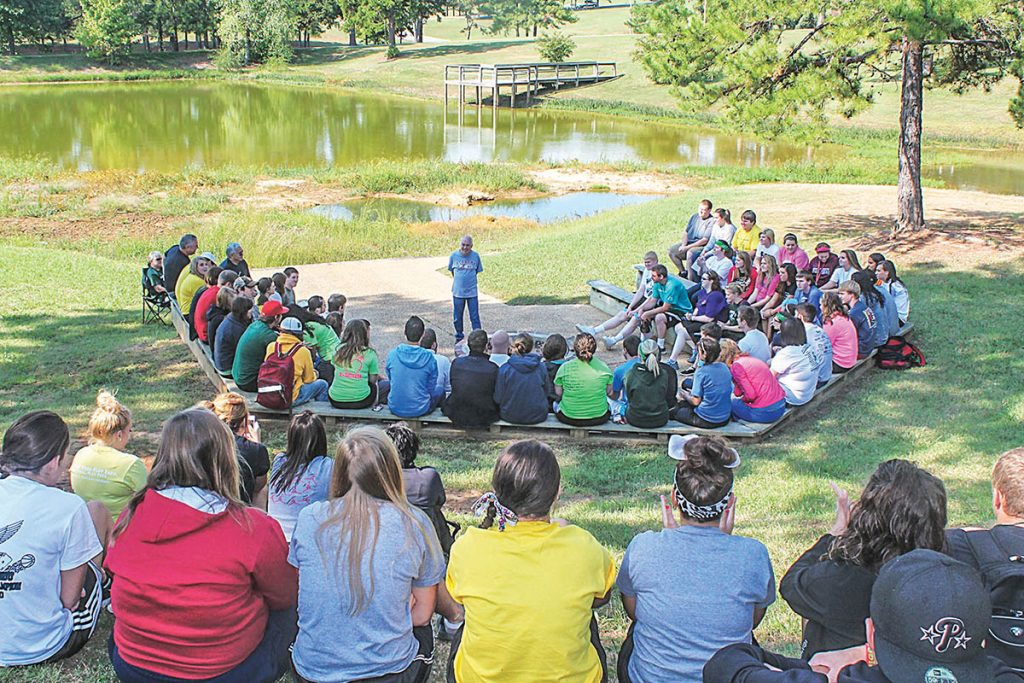 Outdoor chapel at Crowley's Ridge College in Paragould