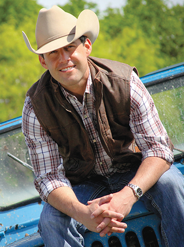 Aaron Watson is on top of the country world