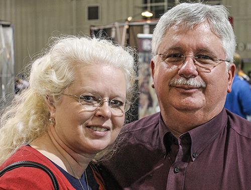 Donald and Tamara Davis at the Tulsa Workshop.