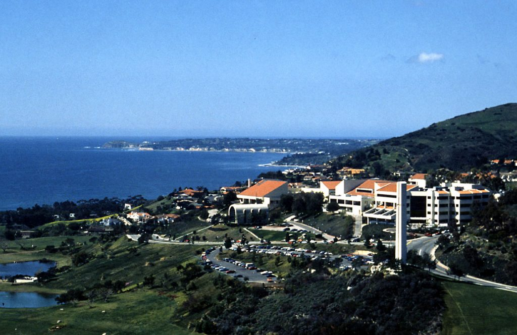 The campus of Pepperdine University