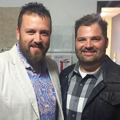 "The Singing Contractors Aaron Gray and Josh Arnett gained a lot of attention after recording ""How Great Thou Art"" and uploading it to YouTube in 2015."