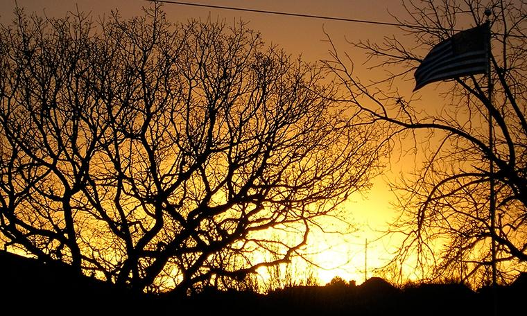 Sunrise in Edmond