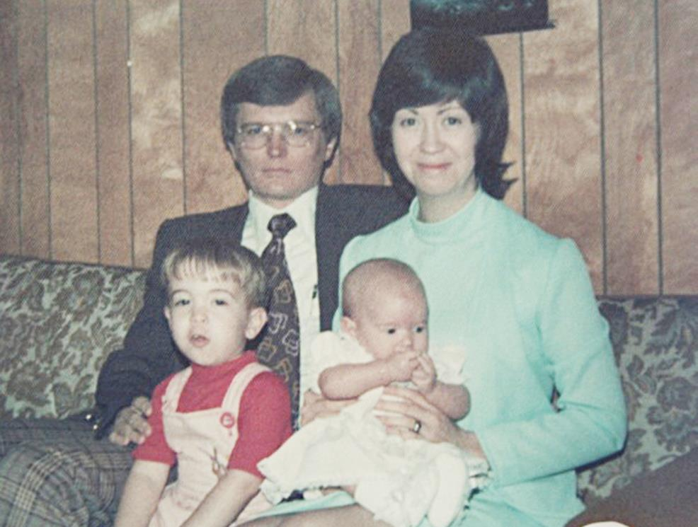 The Tryggestad family, ready for church during a visit to Tennessee, circa 1977. (Photo provided)