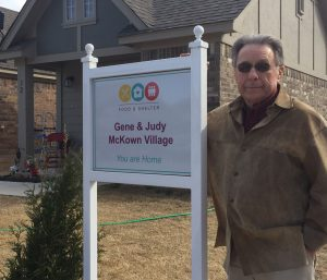 Gene McKown says being able to help and serve his community is a blessing.