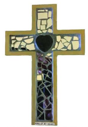 Joseph Shaw, an eighth-grader from the Kings Crossing Church of Christ in Corpus Christi, Texas, constructed this cross for his LTC project.