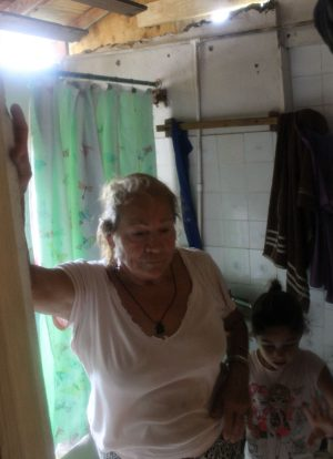 Sandra Rosa Vargas at her Arecibo home.