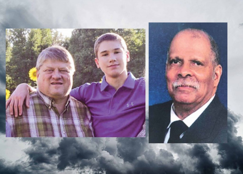 Steve and Lance Smith, left, worshiped with a Church of Christ in east Arkansas. Ray Coleman, right, was a church member in Indiana.