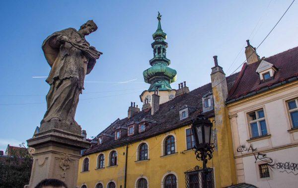 St. Michael's Tower in Bratislava, Slovakia.