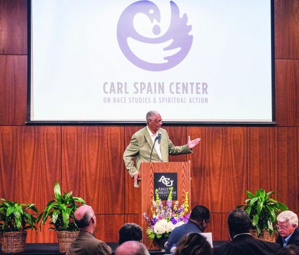 Billy Curl, one of the first black undergraduates admitted to Abilene Christian, reflects on professor Carl Spain's legacy.