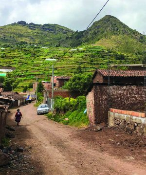 The village of Taray, near Cuzco in southern Peru, is home to a church of indigenous Quechua speakers.