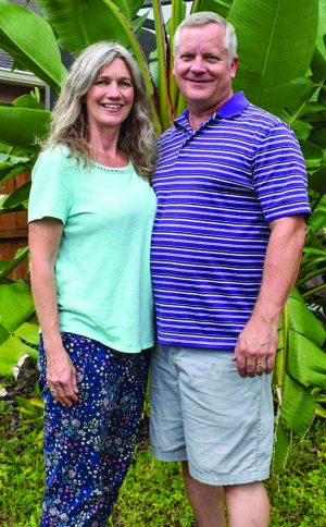 Roslyn Miller and her husband, Andy, are part of a church-planting team.