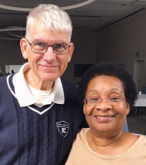 Robert Limb and his wife, Evelyne.