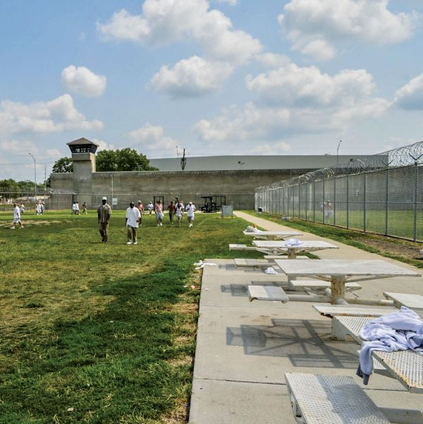 The Nebraska State Penitentiary in the capital, Lincoln, was the site of Carey Dean Moore's Aug. 14, 2018, execution. Death row inmates are housed at a different facility, the Tecumseh State Correctional Institution, about 60 miles southeast of Lincoln.