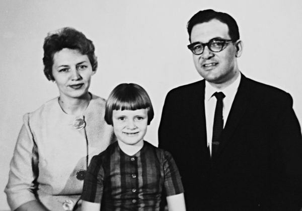 Bob and Jean Reynolds and their daughter, Lisa, in 1964, when Bob began preaching for the Watertown Church of Christ in Wilson County, Tenn.
