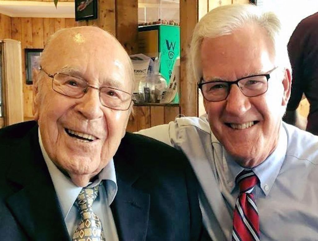 Maurice Hall and Andy Baker of World Christian Broadcasting