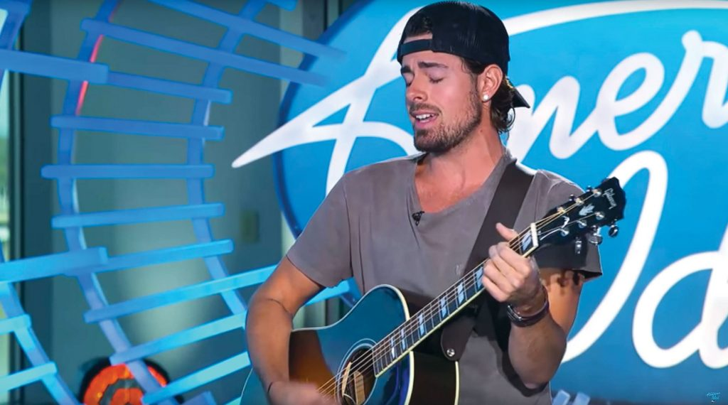 "Kason Lester performs on ""American Idol"""