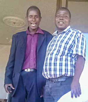 Brighton Madhuba, left, was lost in the flooding in eastern Zimbabwe.