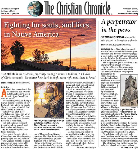 Issues Archive   The Christian Chronicle