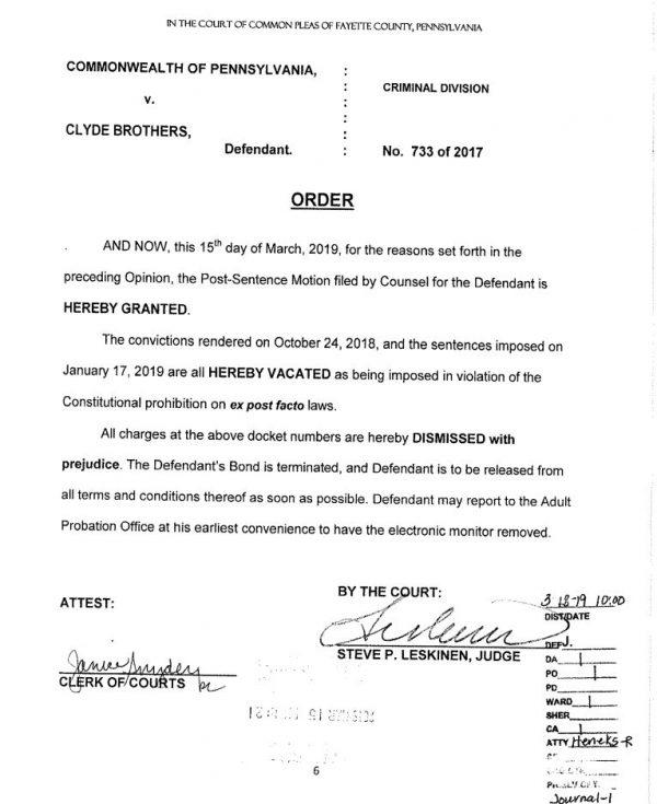 Judge Steve Leskinen's ruling
