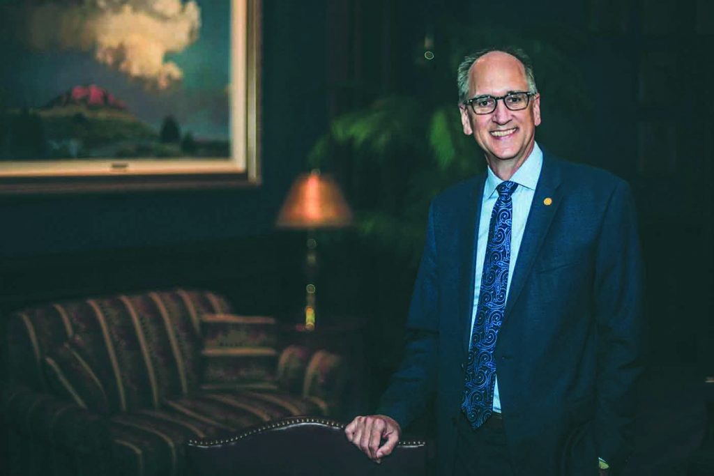 Tim Perrin has served as president of Lubbock Christian for seven years.