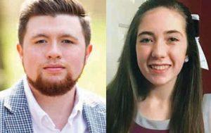 Jonathan Lancaster and his sister, Alayna Lancaster.