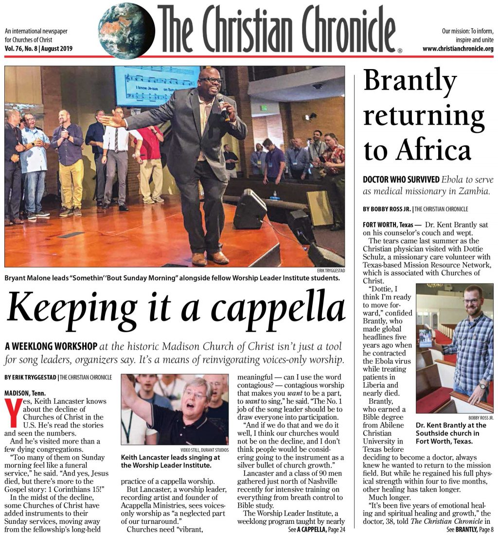The Christian Chronicle - An International Newspaper for Churches of
