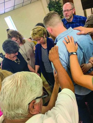 The Refuge, a progressive congregation, worships there on Sunday evenings.