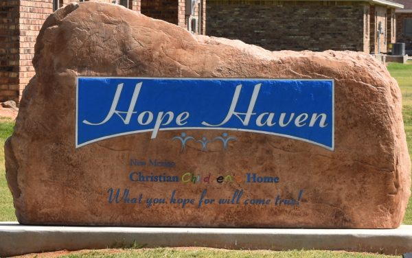 """What you hope for will come true,"" says the sign at Hope Haven in Portales, N.M."