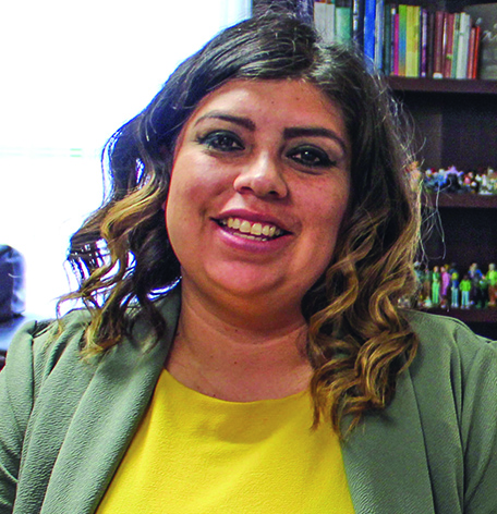 The program benefited Sandra Caldera, now the children's home's director of adoptions and counseling.