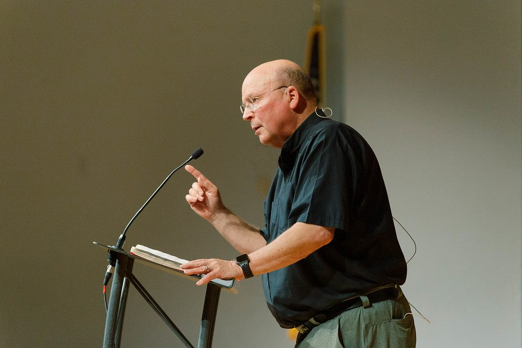 Scot McKnight speaks at Oklahoma Christian University