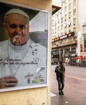 Jorge Mario Bergoglio (Pope Francis) was born in Buenos Aires. Today, his predominantly Catholic homeland is increasingly secular, missionaries say.