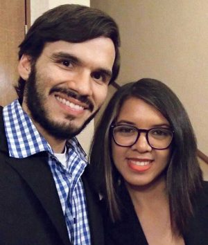 Gabriel Damalis and Naibelis Freitez serve the Caballito Church of Christ.