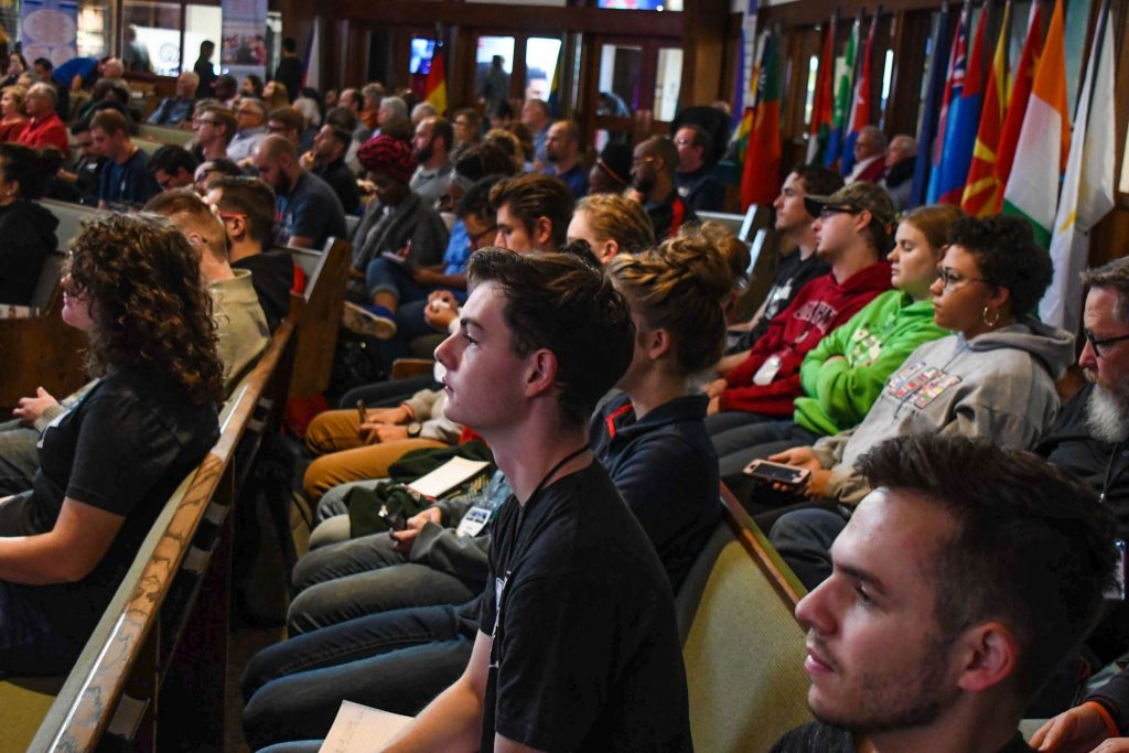 University students were among the participants at the 2019 Global Missions Conference.