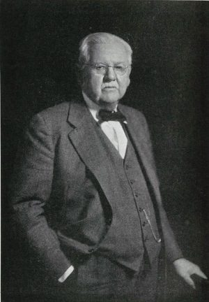 The late R.W. Comer was a prominent businessman and Church of Christ elder. He died in 1944.