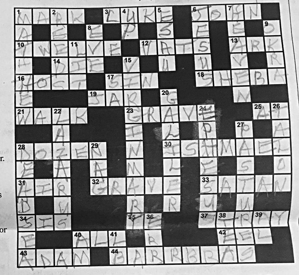 23+ Chronicle Crossword  JPG