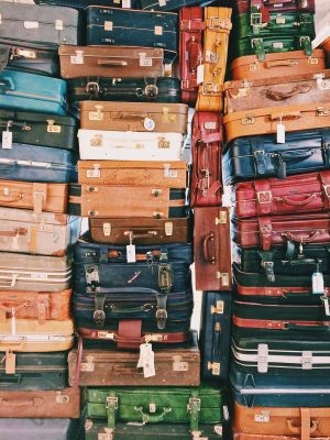 Federal rules and regulations for luggage must be obeyed.
