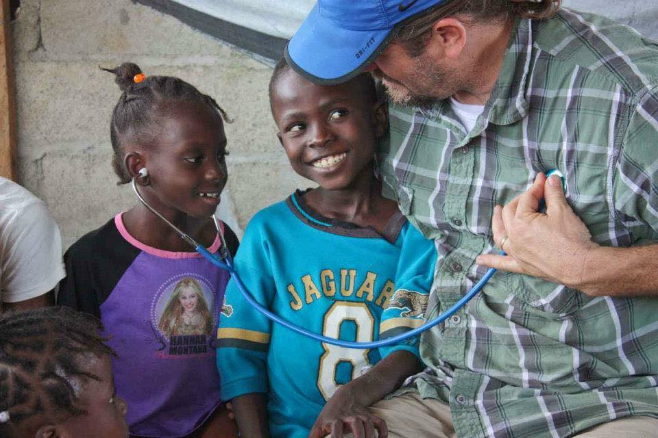 A medical mission to Cap Haitien, Haiti, 2012.