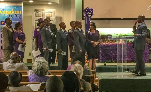 The Northeast Church of Christ in Okahoma City installs news elders and deacons.