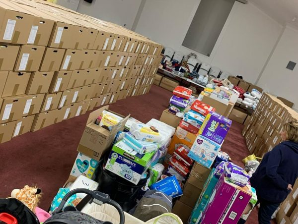 The Double Springs Church of Christ is filled with supplies ready to provide for the needs of their neighbors who lost everything in the tornadoes.
