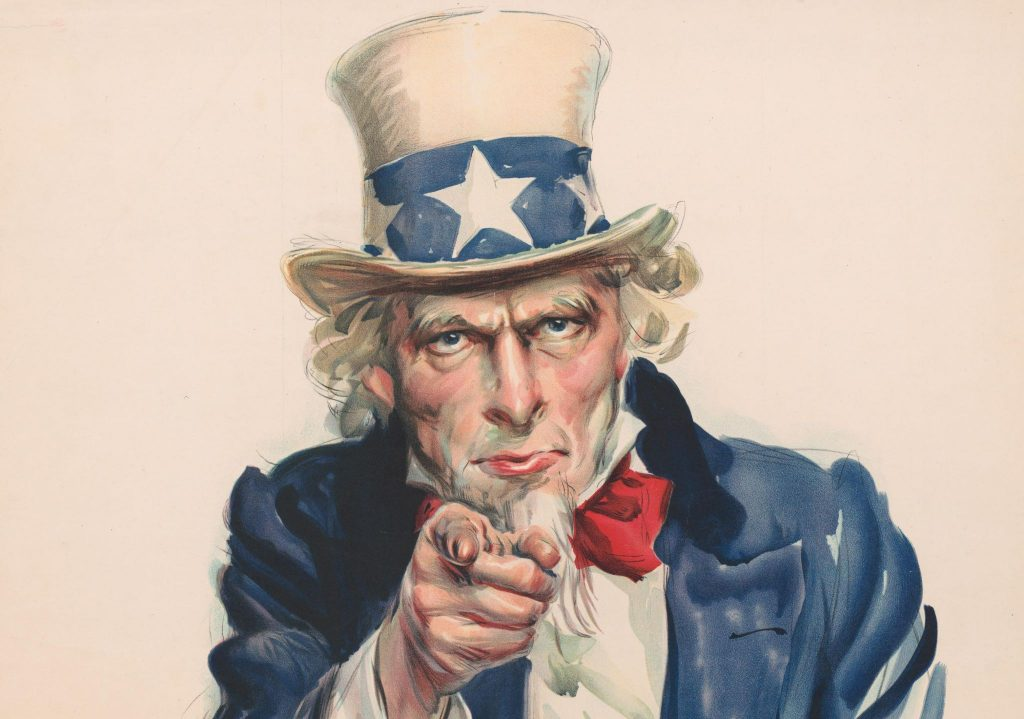 Churches of Christ debated whether to accepted Uncle Sam's help or not.