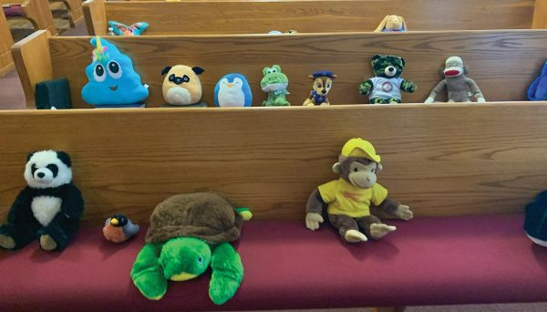 The special guests at the Howell Hill church reflect the personalities of the congregation's members.