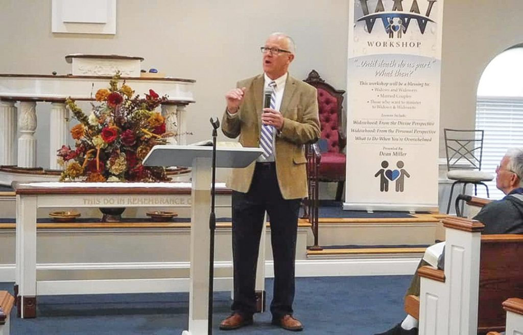 Dean Miller has brought his Widowhood Workshop to 29 Churches of Christ in 11 states.