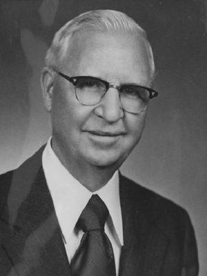The late George S. Benson