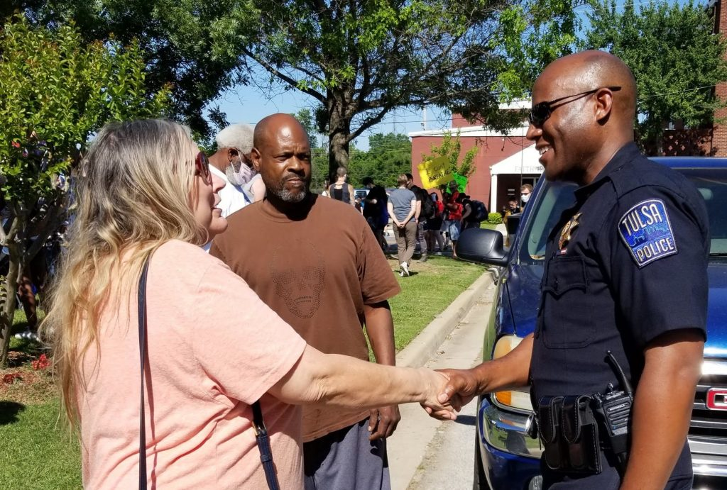 Wendell Franklin, chief of police in Tulsa, Okla., is a member of The Park Church of Christ. For officers, the weeks since George Floyd's death have been challenging.