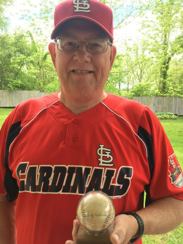 For Joe Chesser, the baseball that the St. Louis Cardinals signed in 1957 remains a treasured keepsake.