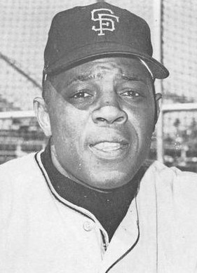 Willie Mays, with the San Francisco Giants in 1965.
