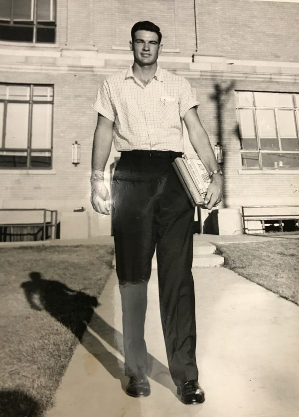 Lindy McDaniel, as a 19-year-old student at Abilene Christian University in Texas.