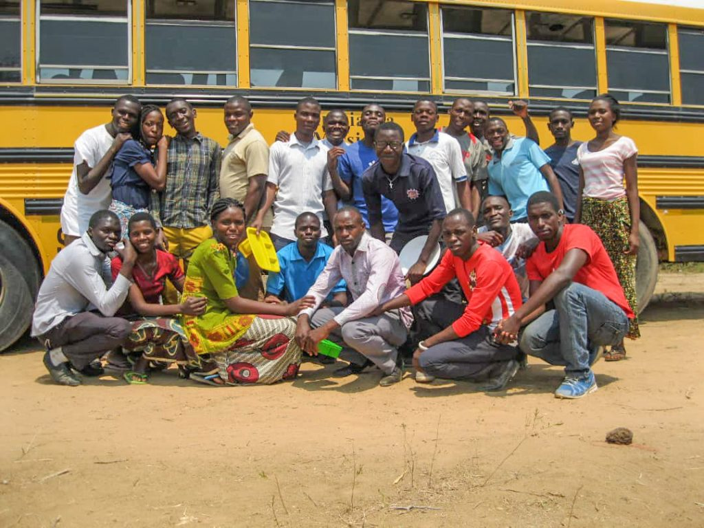 Students at George Benson Christian College in Kalomo, Zambia.