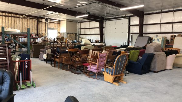 Some of the items Central Furniture Rescue has been given to help those in need.